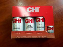 CHI Infra кератин, шампунь, термозащитная маска