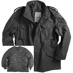 Мужская куртка Alpha Industries M-65 Field Coat с теплой подкладкой