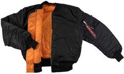 Демисезонная куртка Alpha Industries MA-1 FLIGHT JACKET. Оригинал