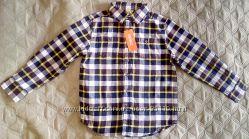 Теплая фланелевая рубашка с американского сайта Gymboree