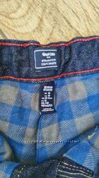 Утепленные фланелью джинсы GAP р. 140