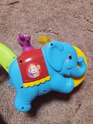 Каталка слон- цырк  kiddieland