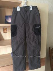 Зимние брюки Jack Wolfskin на флисе 140-146
