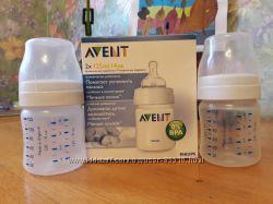 бутылочка Avent 125мл. пустышка Avent в подарок