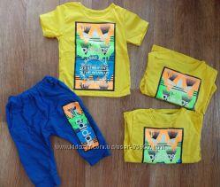 летний костюм Adidas на деток размер 110-116 см