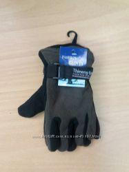 Перчатки детские  флисовые двойные