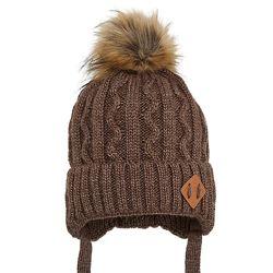 Зимние шапочки с бубоном, хомуты