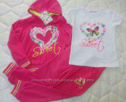 Спортивный костюм тройка для девочки Венгрия рост 104