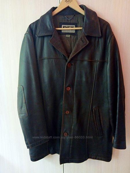 ТОРГ   Куртка мужская кожа натуральная RFT размер L наш 50-52 теплая