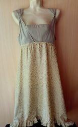 Оригинальное летнее легкое платье размер M