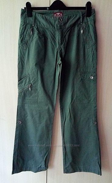 Летние коттоновые брюки размер eu 10 можно подкатить