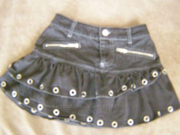 Стильная джинсовая юбка Cool Cat Girls