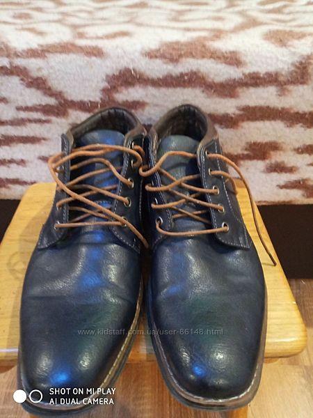 Мужские туфли кожаные Venice. Оригинал.