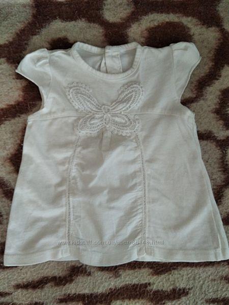 Беленькое платье туника George