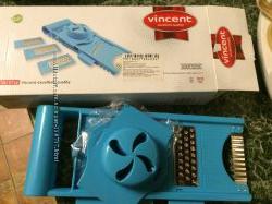 Набор терок Vincent удобное хранение и сохранность рук и ногтей