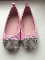 Красивые туфельки для девочки H&M