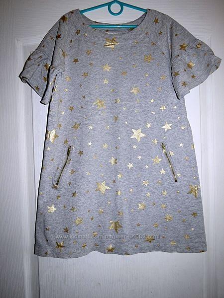 Симпатичное платье в звездах, туника