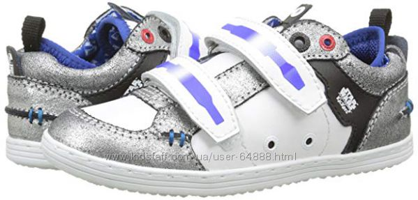 Кроссовки для мальчика kickers, из серии Star Wars, 31 евро, стелька 20 см