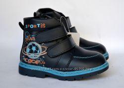 Деми ботинки  для мальчика  р. 21-26 2 модели