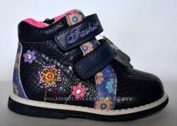 Демисезонные ботинки  для девочек р. 21-27