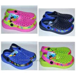 Кроксы, мыльницы пляжная обувь  Шалунишка 20-29