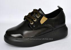 Туфли полуботинки для девочки b&g 31-38
