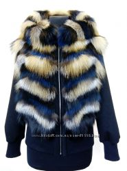 Меховая куртка- бомбер