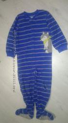 Флисовый   человечек-пижамка для мальчика CARTERS