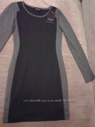Новое фирменное платье Reserved с длинным рукавом, р. S