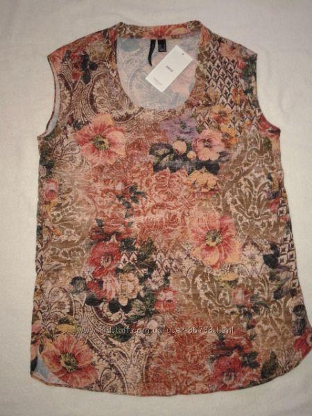 Легкая блуза, футболка  Mango, р. S-M