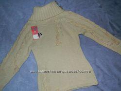 Шикарный теплый свитерок на девочку 116-122см. Распродажа. Последний размер