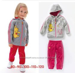 Модный костюмчик adidas для девочки р. 80 и 90 см