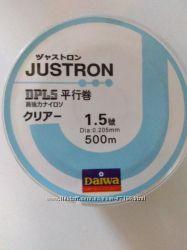 Леска JUSTRON Daiwa 500м  - копия