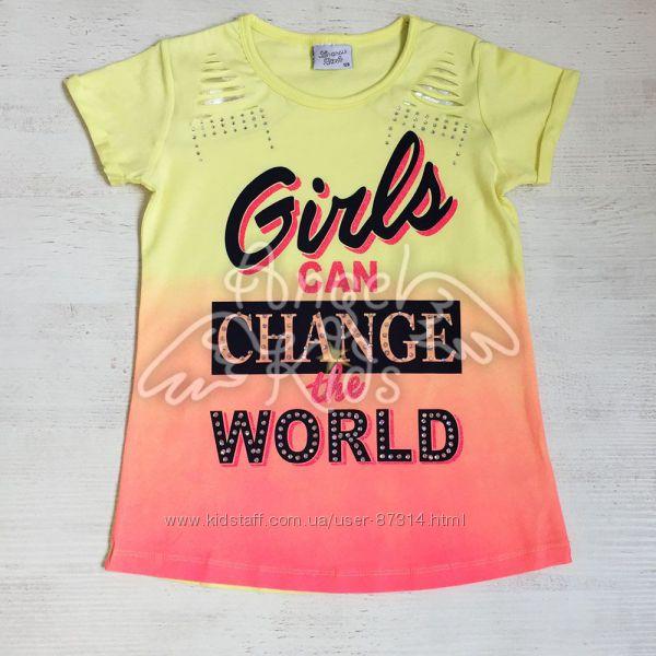 Шикарные футболки и туники Breeze Girls Турция