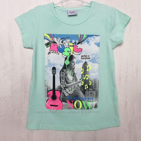 Шикарные футболки Breeze Girls Турция от 128 см до 164 см в наличии