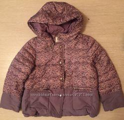 Демисезонная куртка французского бренда Vertbaudet размер 5 лет на рост 108