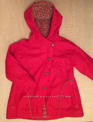 Демисезонная куртка на флисе Vertbaudet размер 6 лет на рост 114 см