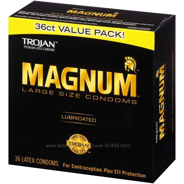 Презервативы больших размеров Trojan Magnum из США