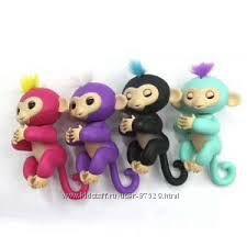 Умная обезьянка Fingerlings Monkey