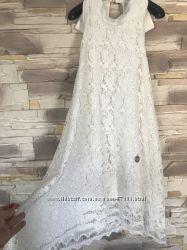 Нарядное белое платье Рaparazzifashion