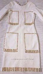 Стильное бандажное платье р. S-M.