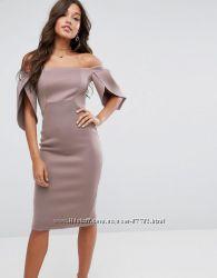 Коктейльное платье-футляр Asos р. 44  16  XXL