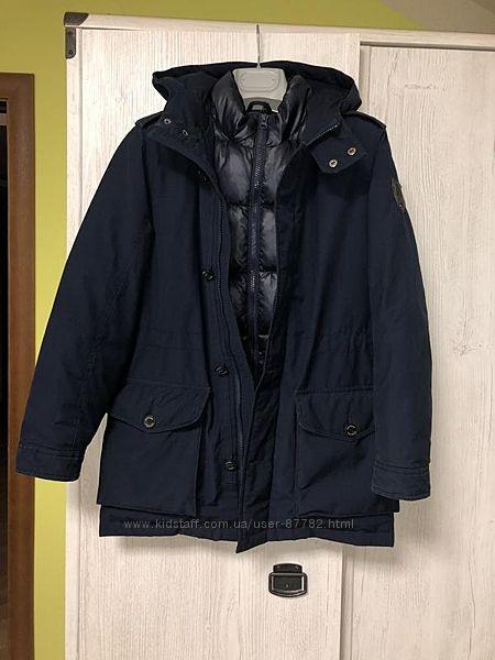 Зимняя пуховая куртка Tommy Hilfiger р. 152-158 Оригинал.