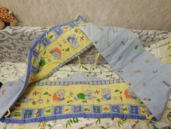 Защита на кровать, сплошная, 3,5 метра