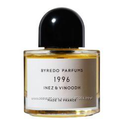 Распиваем Byredo Parfums 1996 Inez & Vinoodh