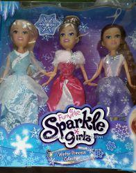 Funville Sparle girls -  набір з 3х ляльок