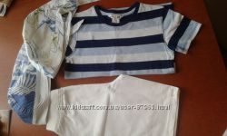 Продам новые шортики Mothercare на 4-5 лет футболка Н&M и бандана Chicco