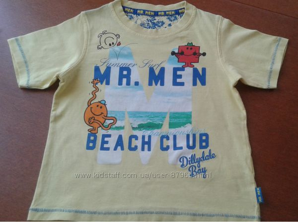Продам яркую летнюю футболочку Marks&spencer на 4-5 лет, рост 110см