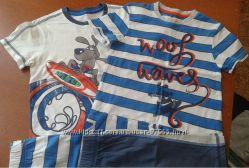 Продам комплект из двух летних костюмов Marks&spencer на 4-5 лет, рост 110с