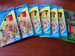 Продам  новые карандаши, гуашь, ланчбоксы